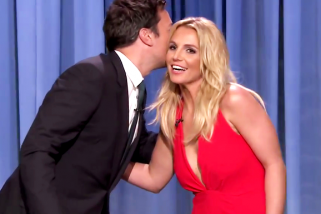 Britney Spears Joins Tinder, Stops By The Tonight Show