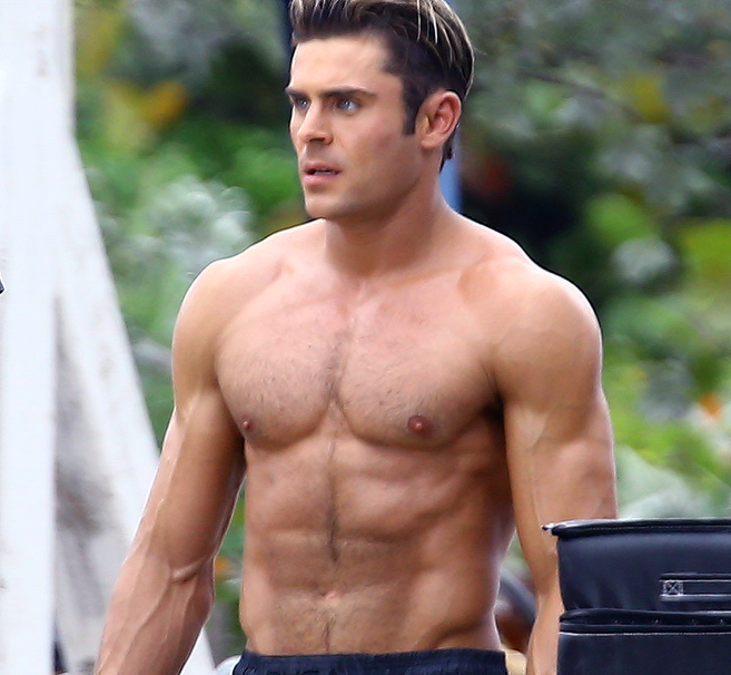 Zac Efron And Nude Model 79