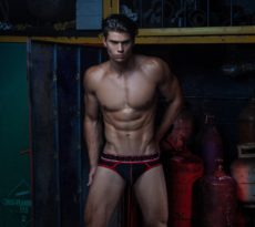 Male Model Patrick Clayton by Rick Day for Pump Underwear