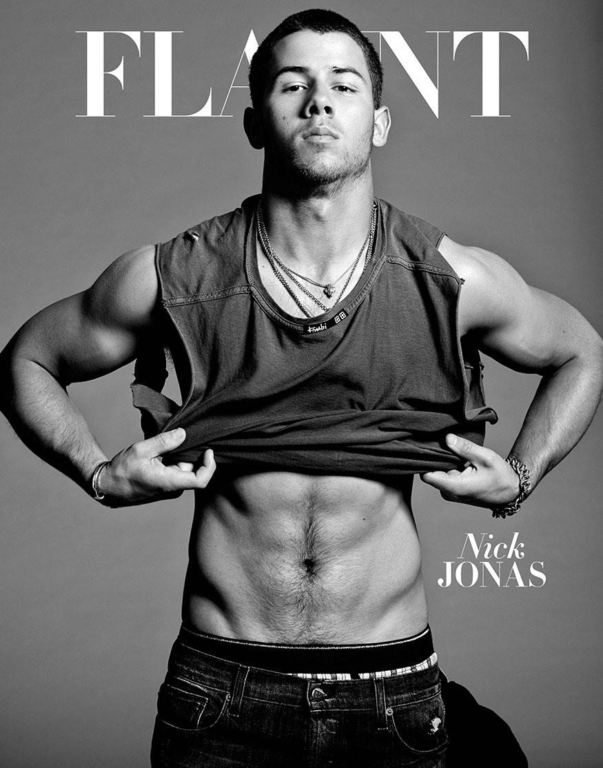 Nick Jonas Flaunt 1